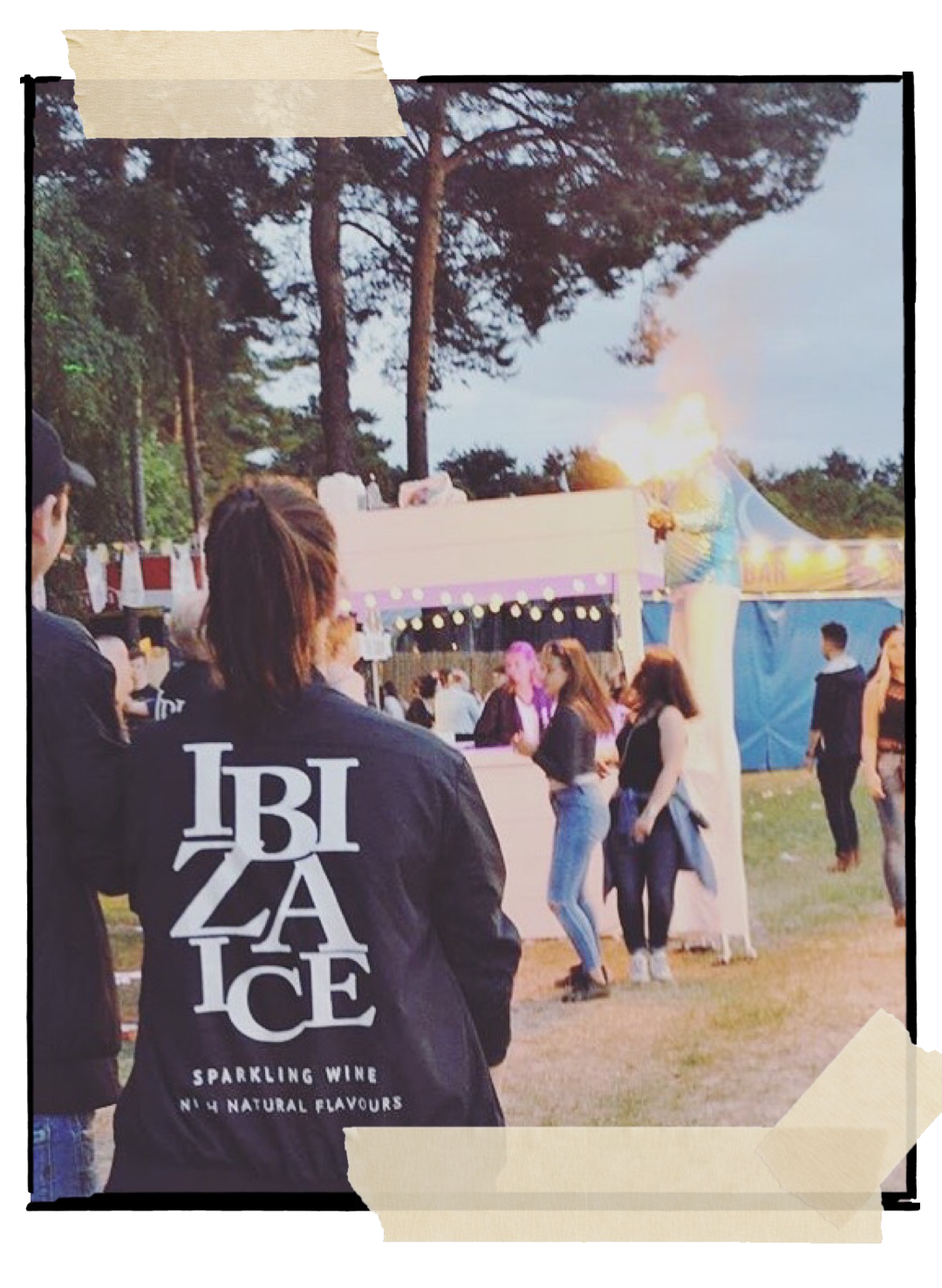 brand activation ibiza ice